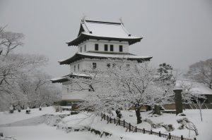 Castillo de Matsumae, en la península de Oshima, Hokkaido.