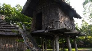 Chise, casa museo ainu en Nibutani (Hokkaido)