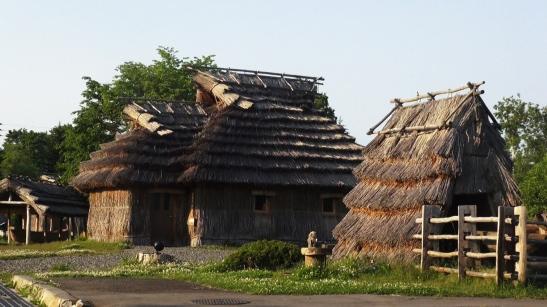 Chise, casa ainu en Nibutani (Hokkaido)