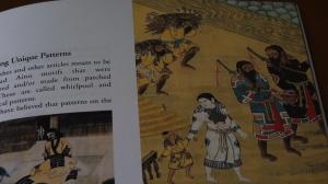 Antiguo grabado japonés sobre los ainu