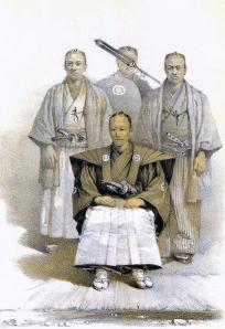 Pintura del daimyo de Matsumae