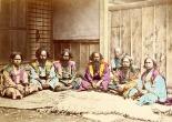 reunión de hombres ainu