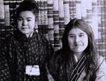 Imekanu junto a su sobrina Yukie Chiri