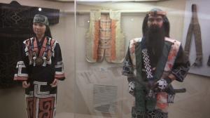 Sala del Museo Ainu de Poroto Kotan. Shiraroi, Hokkaido