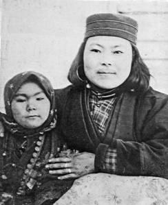 Chufsanma, esposa ainu de Bronislaw Pilsudski.