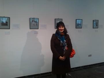 Visita de Laura Liverani. Ainu 2009-2013, Centro Cultural de Abastos.