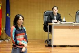 """Marcos Centeno y Almudena García en el estreno de """"Ainu. Caminos a la memoria"""""""