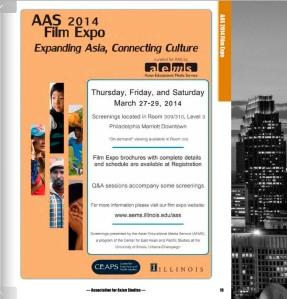 AAS Film Expo 2014