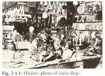 Antigua tienda de souvenires ainu