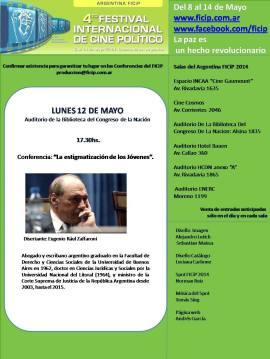 Conferencias y Actividades Especiales del Festival Internacional de Cine Político 2014