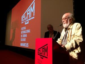 Entrega de premios de la mano del director de cine Jose Luis Cuerda.