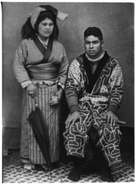 Ainu pair_Japan_1914