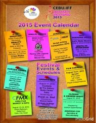 CALENDAR OF EVENTS - Cebu International Documentary Film Festival (CIDFF)