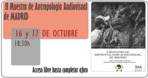 II Muestra de Antropología Audiovisual de Madrid
